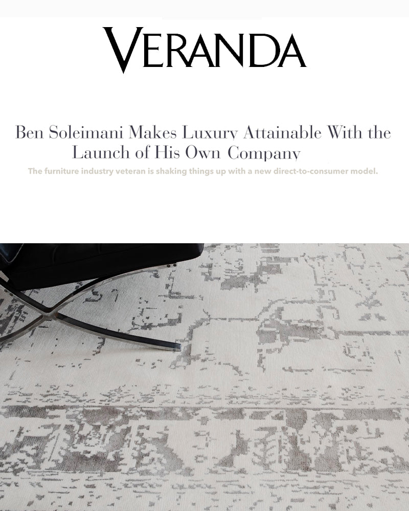 Ben Soleimani makes luxury attainable with the launch of his own home furnishings brand