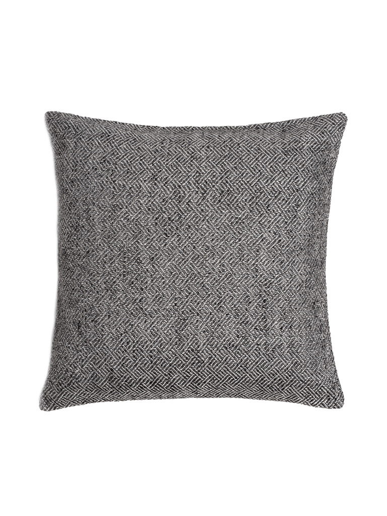 Angled Diamond Pillow Cover - Grey