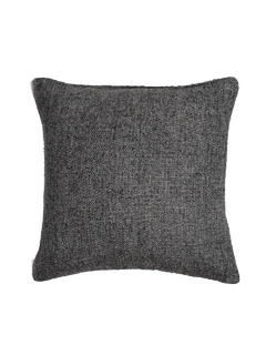 Basketweave Pillow Cover - Graphite