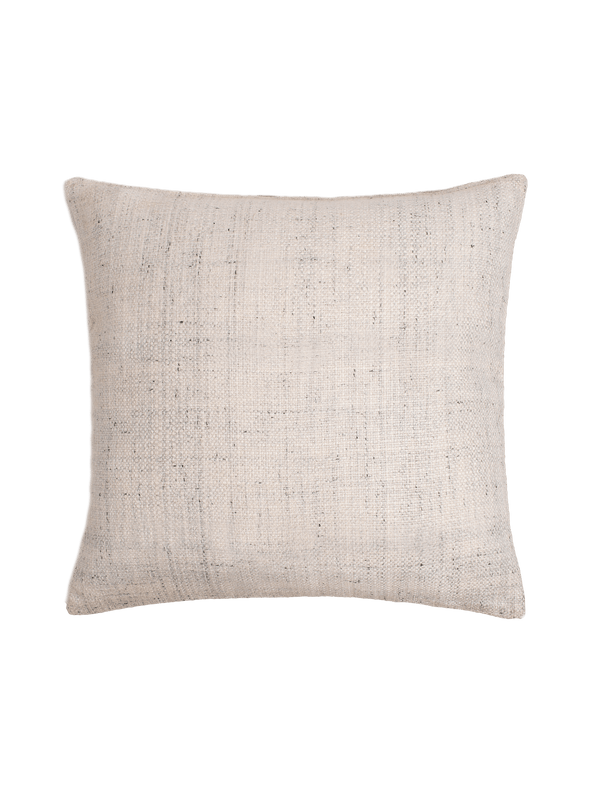Basketweave Pillow Cover - Ivory