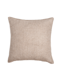 Basketweave Pillow Cover - Sand