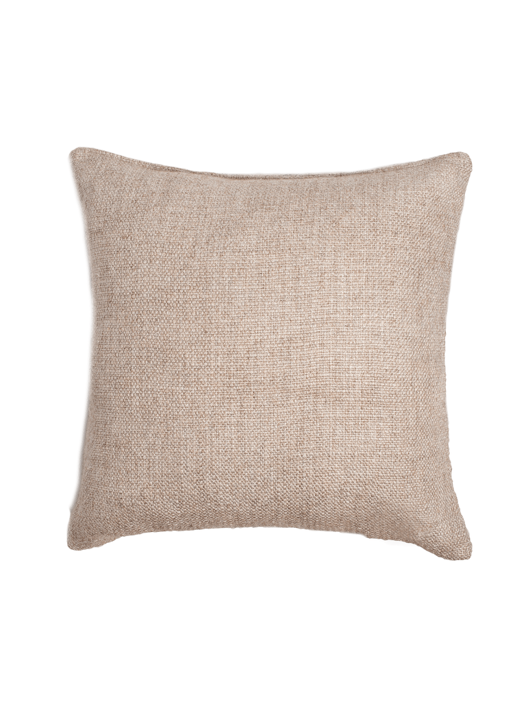 Basketweave Pillow Cover - Sand - color option