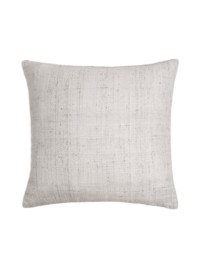 Basketweave Pillow Cover - White