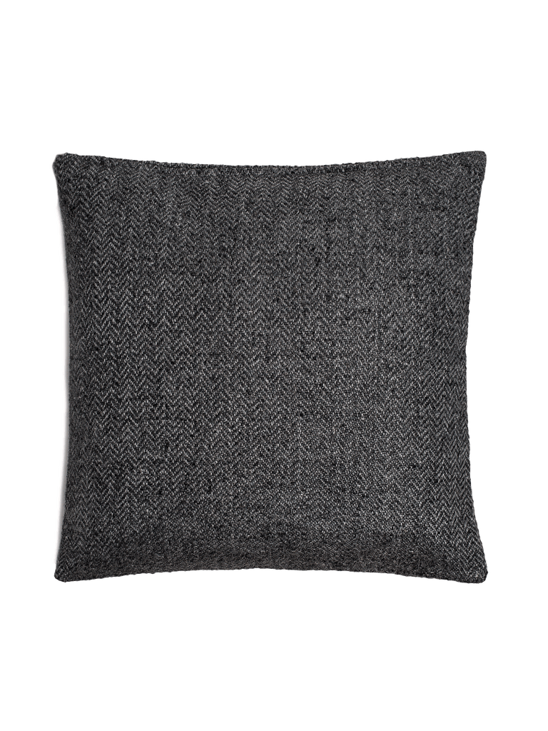 Chevron Pillow Cover - Charcoal - color option
