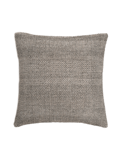 Chevron Pillow Cover - Graphite