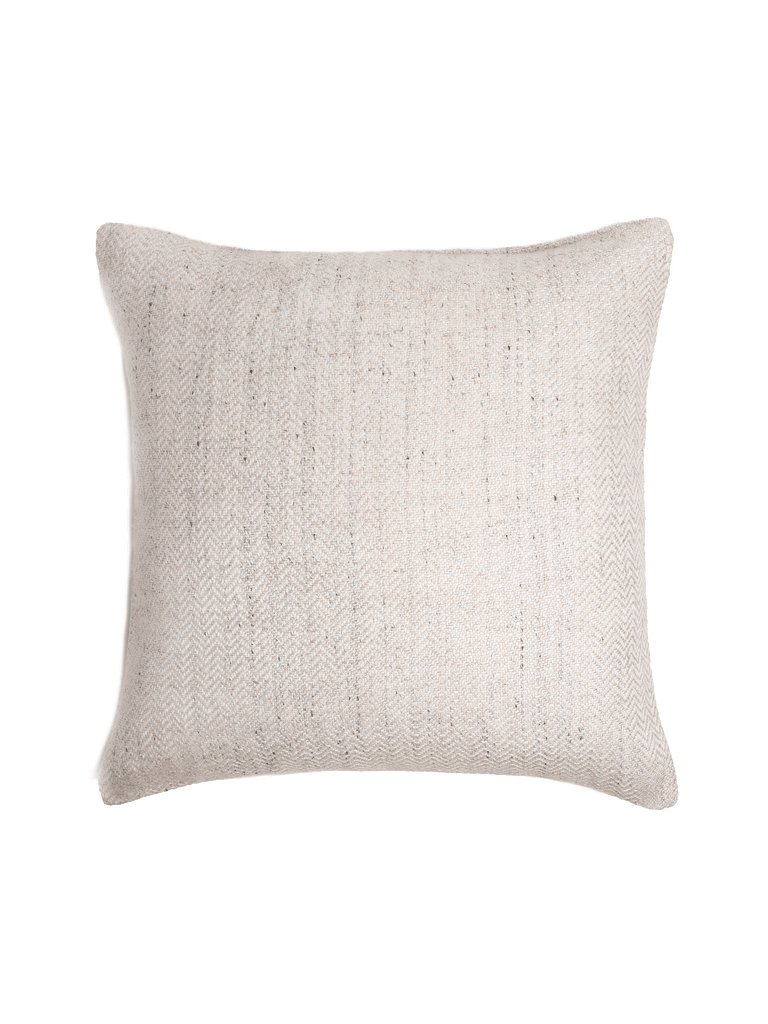 Chevron Pillow Cover - Ivory - color option