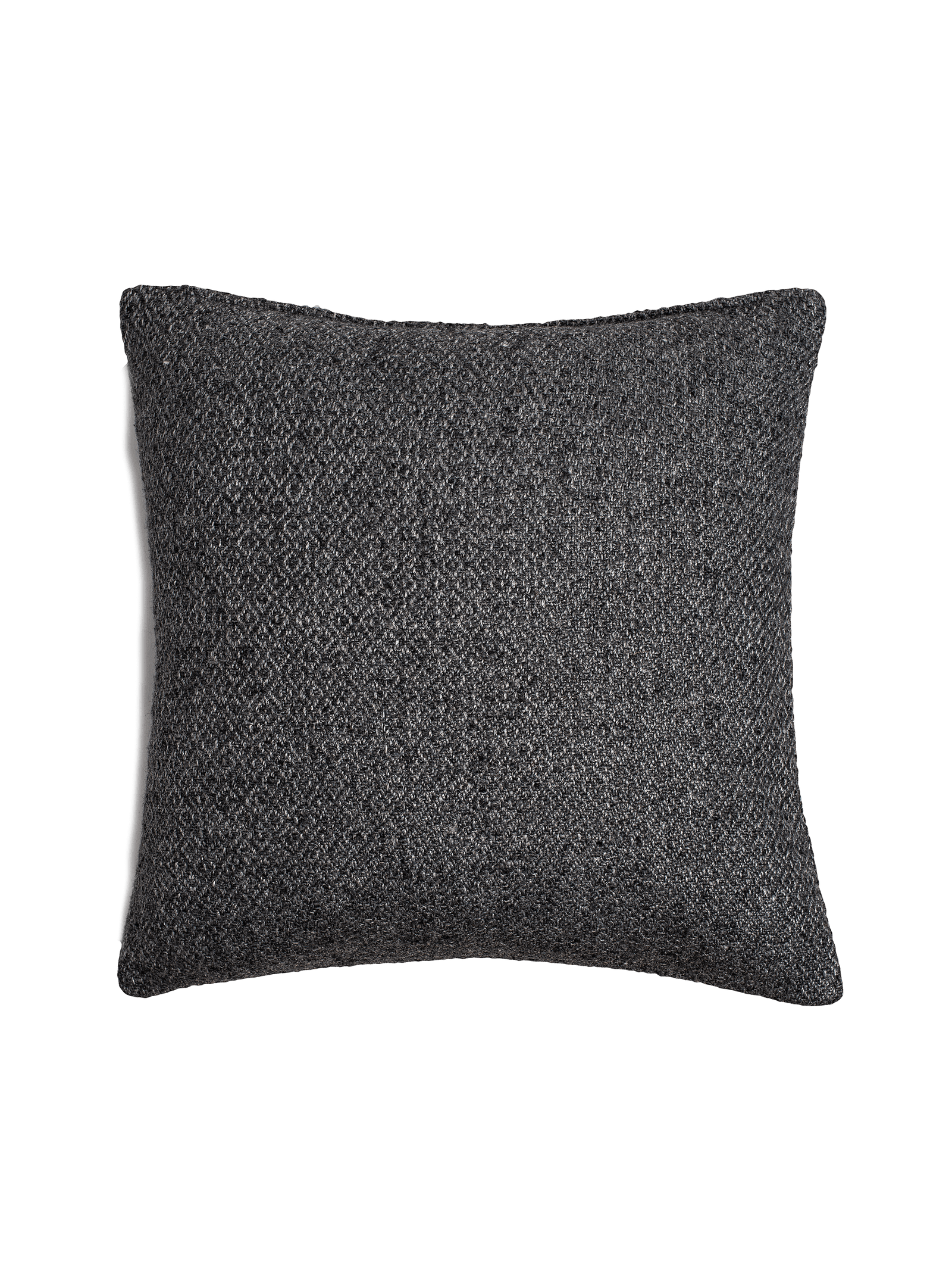 Double Diamond Pillow Cover - Charcoal