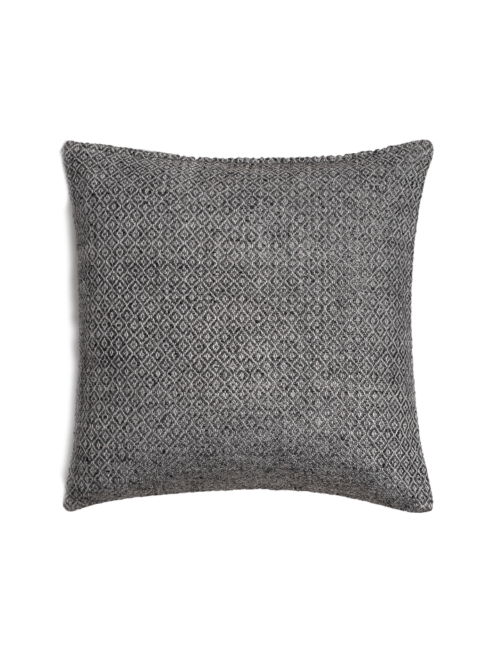 Double Diamond Pillow Cover - Silver