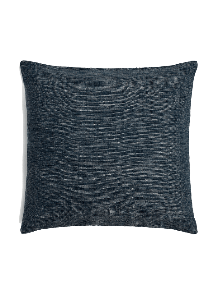 Textured Pillow Cover - Indigo