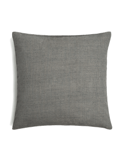 Textured Pillow Cover - Silver