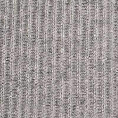 Ribbed Cashmere Throw - Grey - color option