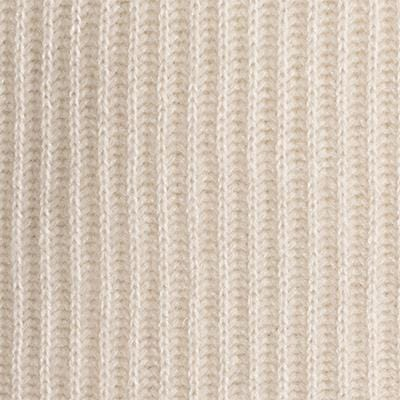 Ribbed Cashmere Throw - Ivory - color option