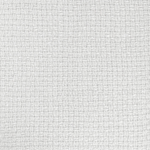Basketweave Linen | Chalk