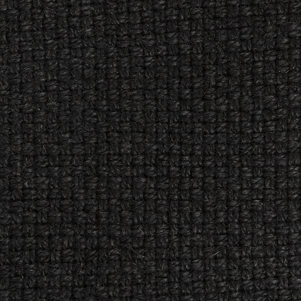 Basketweave Linen | Carbon