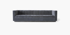 Palmer Sofa in Velvet Graphite