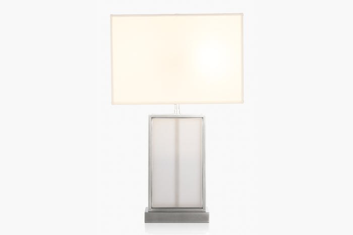 Ivar Frosted Glass Table Lamp