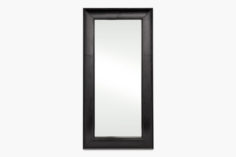 Clove Leather Wall Mirror