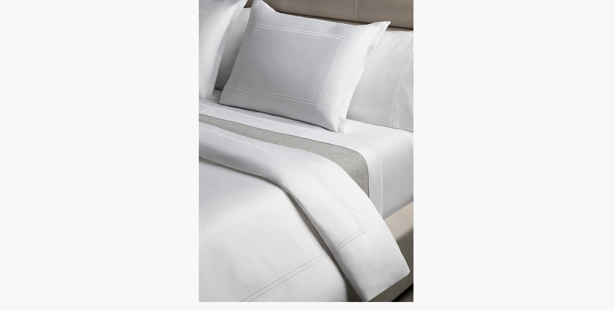 Luxury Percale Double Stitch Bedding - thumbnail 1