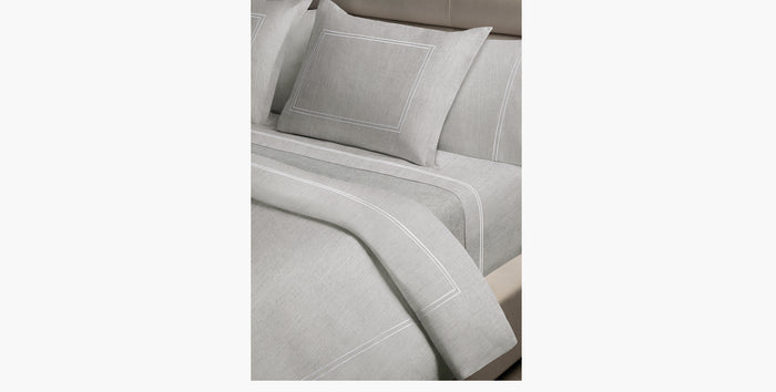 Luxury Heathered Double Stitch Bedding