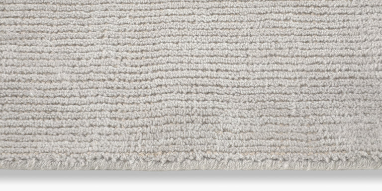 Distressed Wool Rug – Silver - color option