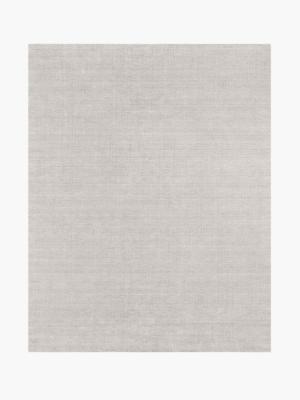 Distressed Wool Rug – Silver