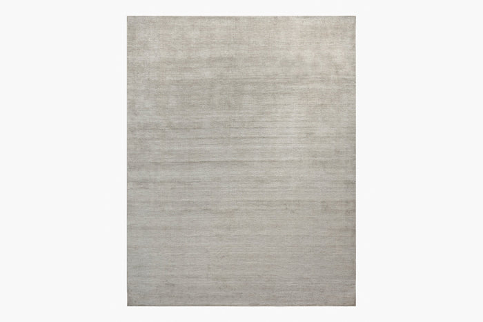 Distressed Wool Rug – Platinum
