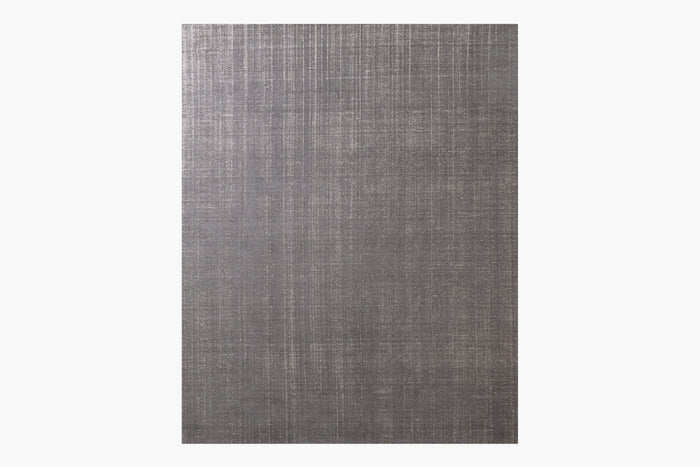 Distressed Wool Rug – Charcoal