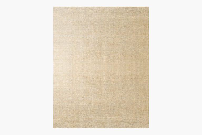 Distressed Wool Rug – Flax