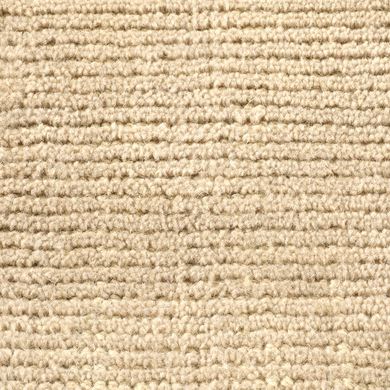 Distressed Wool Rug – Flax - color option