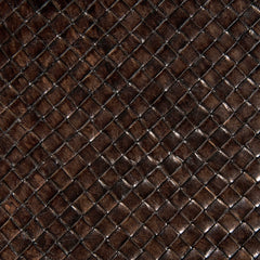 Woven Leather   Brown - color option