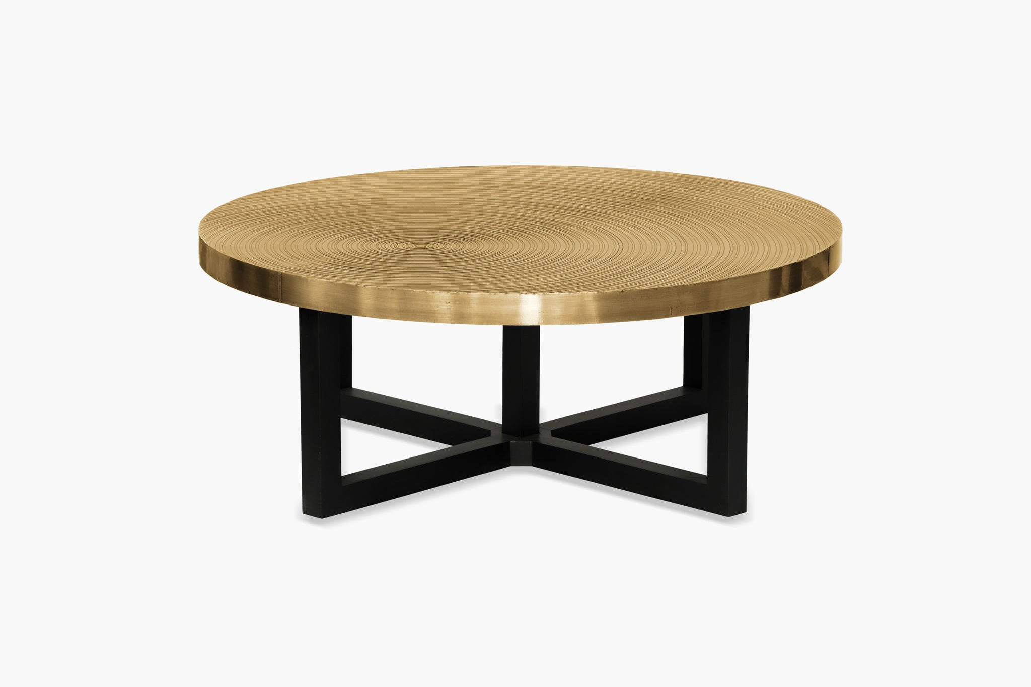 Demeter Round Coffee Table - thumbnail 1
