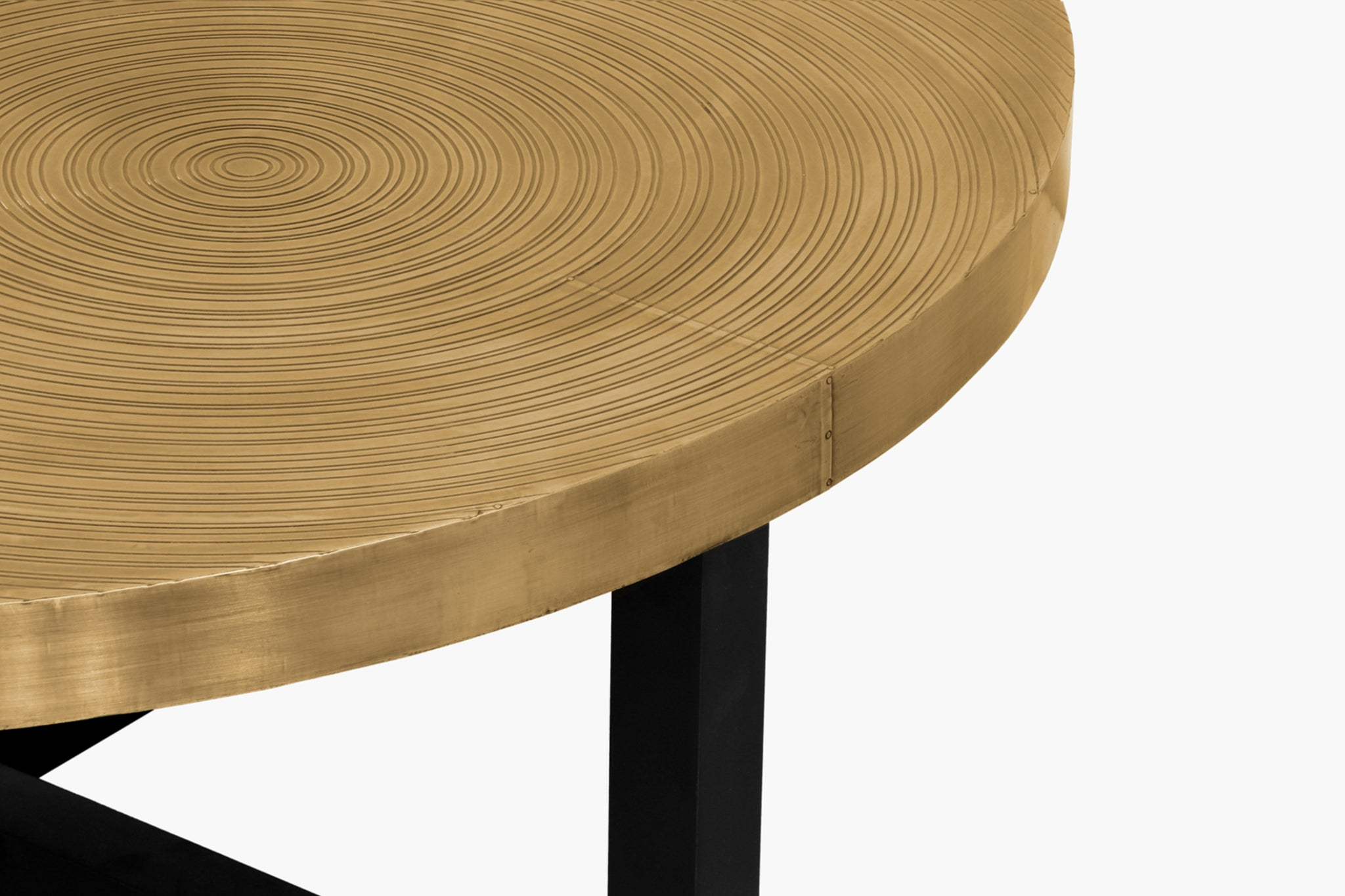 Demeter Round Coffee Table - thumbnail 3