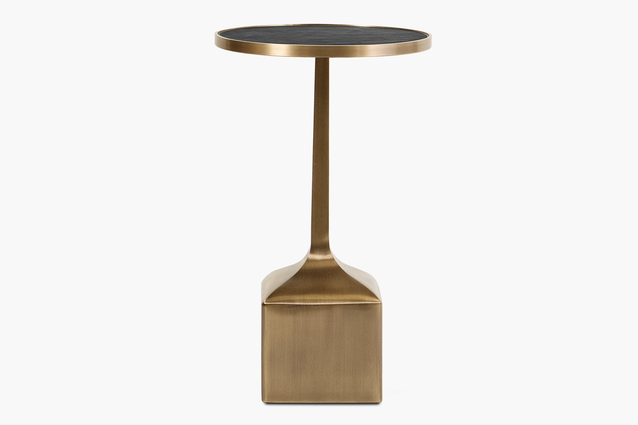 Piccolo Side Table with Square Base - thumbnail 1