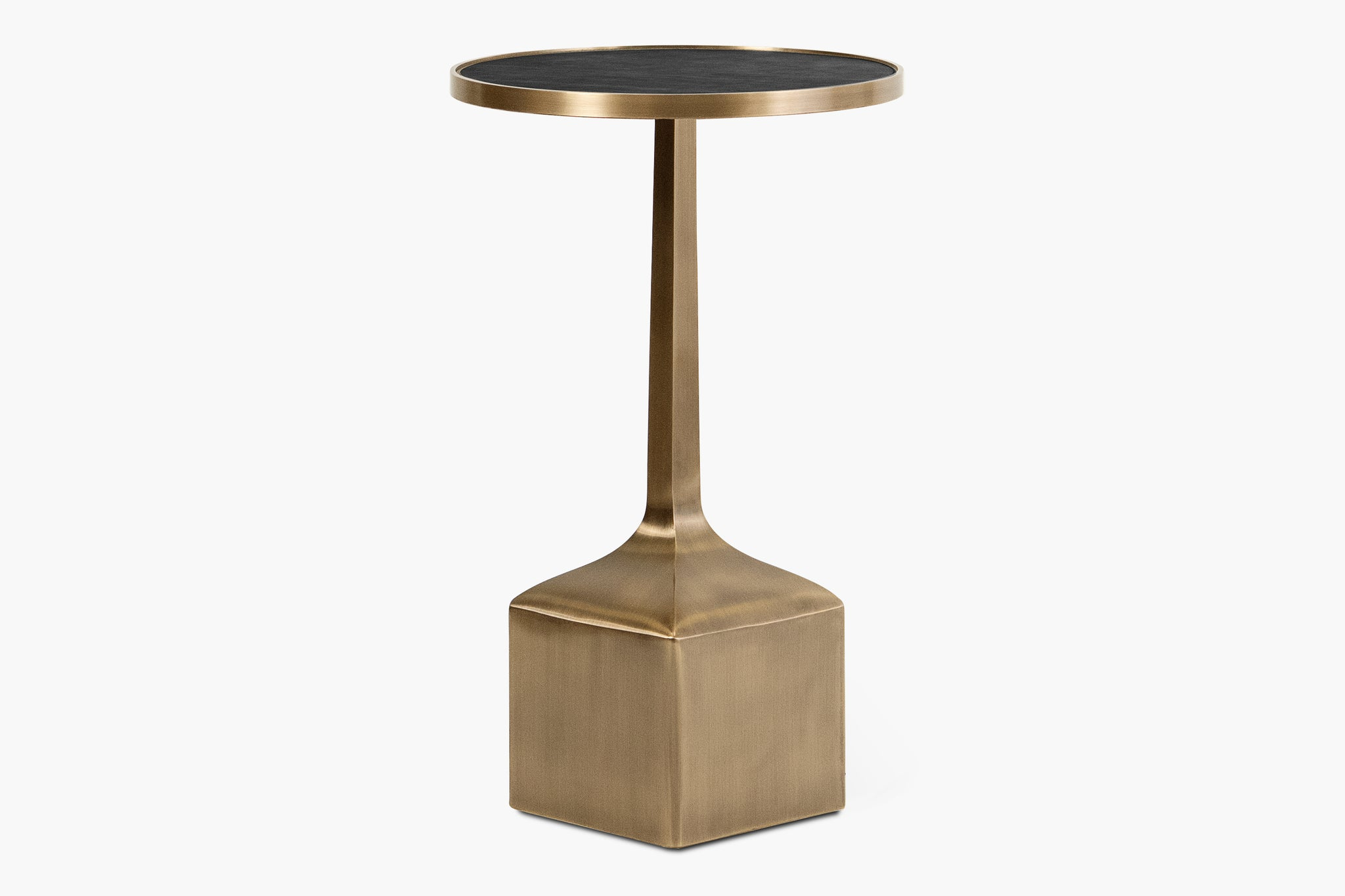 Piccolo Side Table with Square Base - thumbnail 2