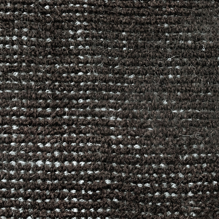 Distressed Wool Rug – Antiqued Black - color option