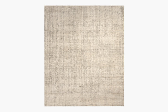 Distressed Wool Rug – Sand