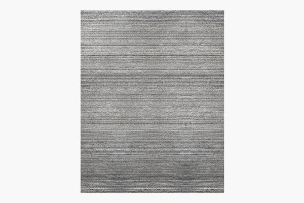 Contemporary Handloomed 9x12 Area Rug Savilla Charcoal Product Image