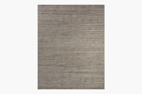 Ben Soleimani Performance Distressed Wool Rug – Grey