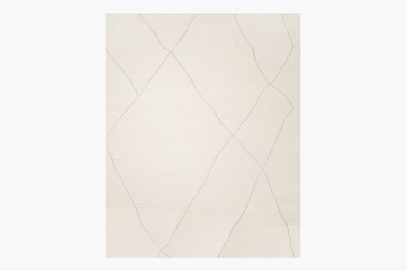 Ben Soleimani Iona Rug – Natural / Nickel