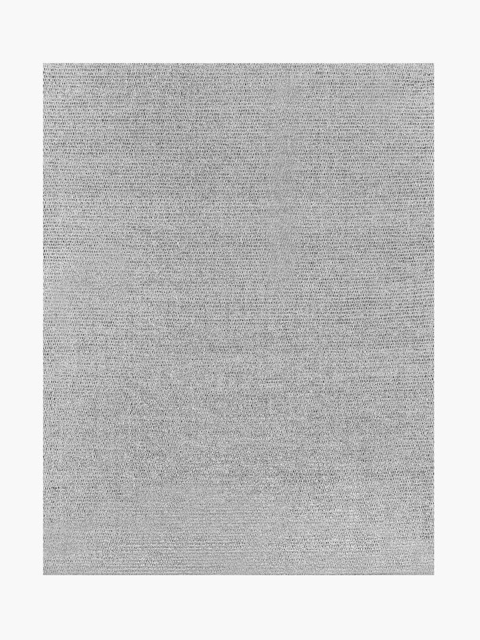 Ben Soleimani Performance Tolo Rug – Nickel / Carbon