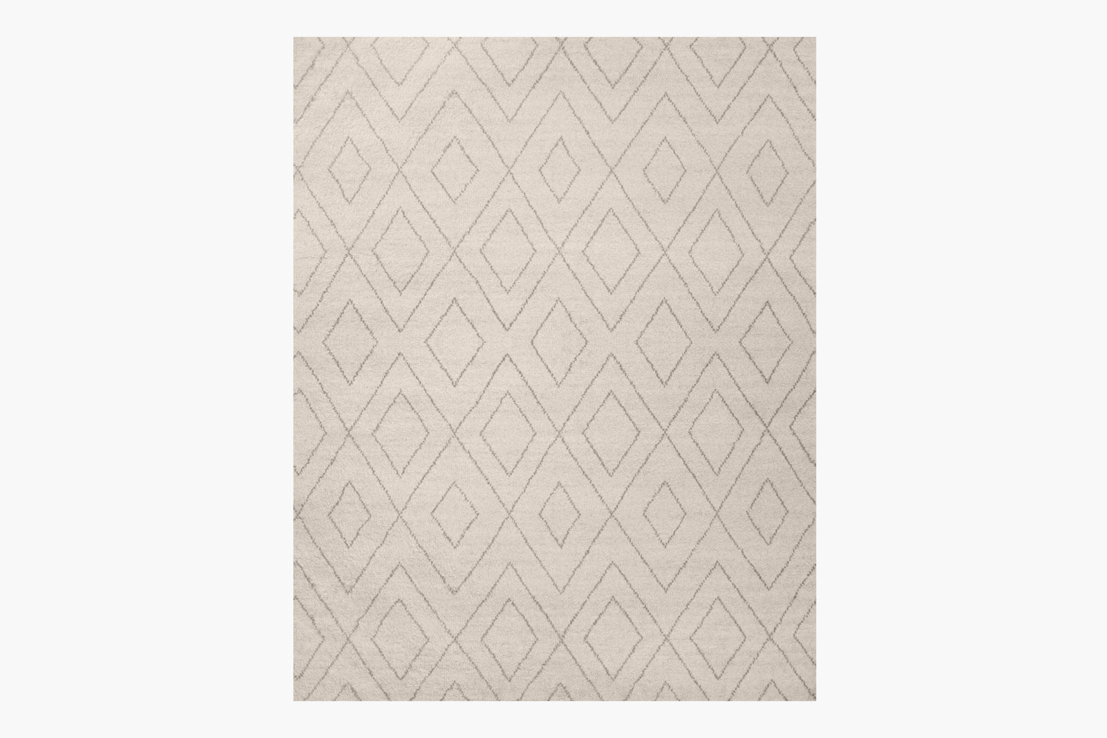 Performance Double Diamond Moroccan Rug