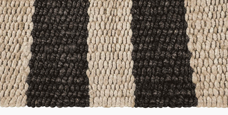 Banna Rug – Natural / Black - color option