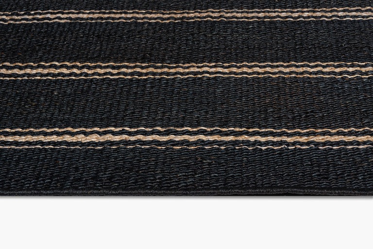 Lenia Rug – Black / Natural - color option