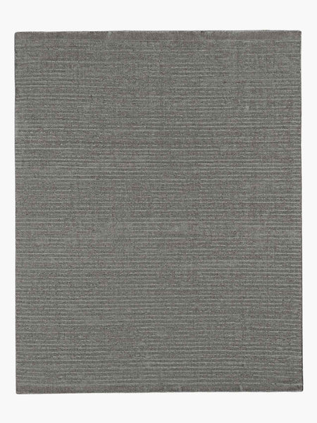 Contemporary 10x14 Oversized Area Rug Performance Textra Charcoal Product Image