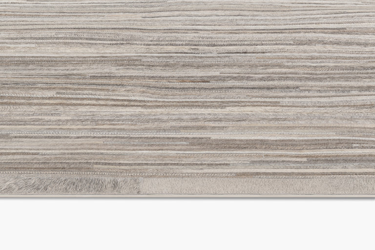 Ombre Hide Rug – Steel - color option