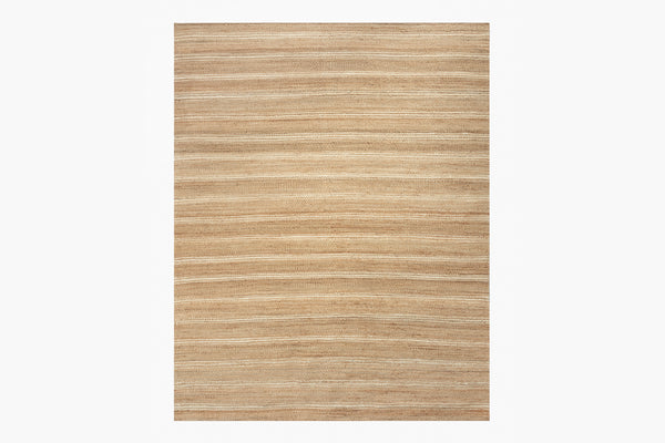 Contemporary Geometric 8x10 Area Rug Lenia Honey / Natural Product Image
