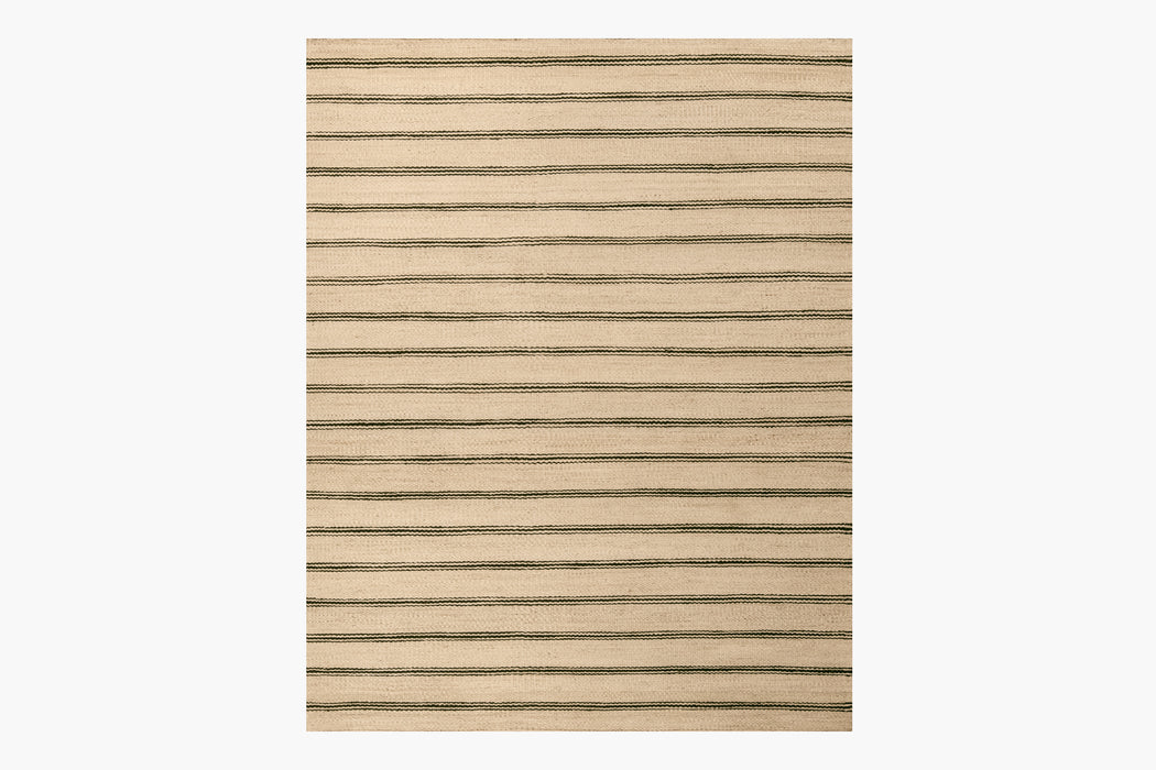Lenia Rug – Natural / Black