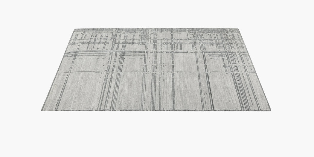 Performance Montro Rug – Grey / Charcoal