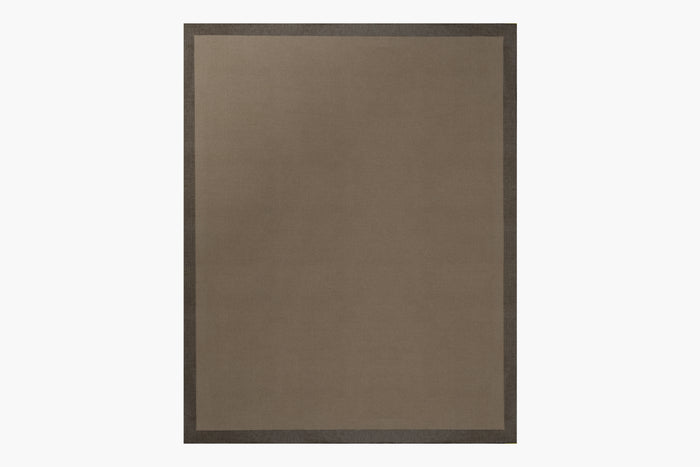 Silk Marca Rug – Dark Grey