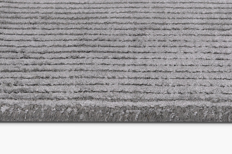 Silk Vila Rug – Dark Grey - color option